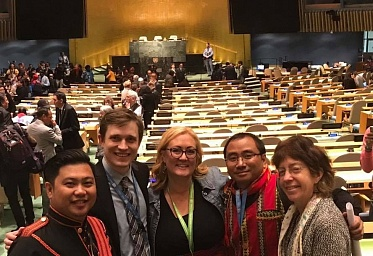 "Center ""Young Karelia"" has been granted special consultative status with UN ECOSOC"